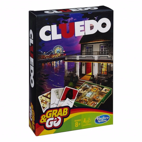 Cluedo Grab and Go Board Game