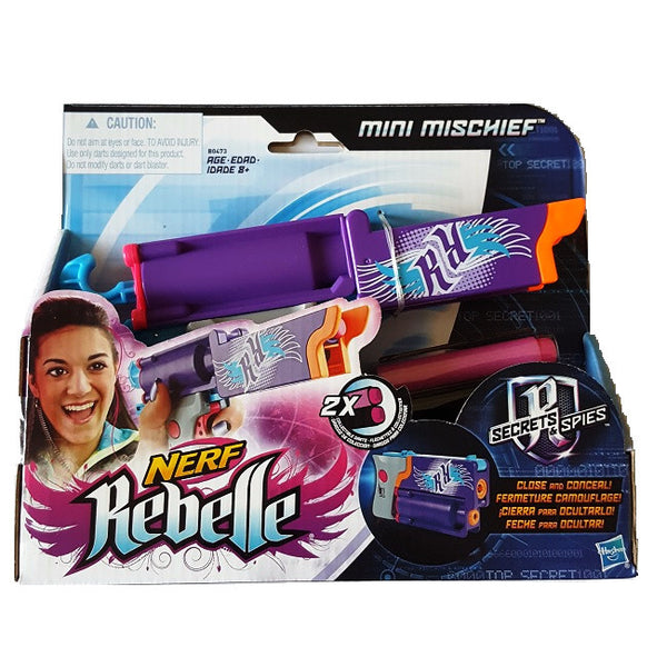 Nerf Rebelle Mini Mischief Outdoor Toy Game