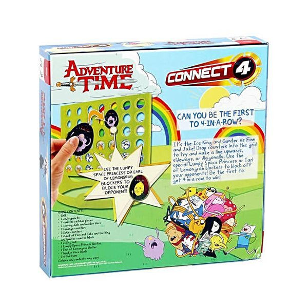 Connect 4 Adventure Time Board Game