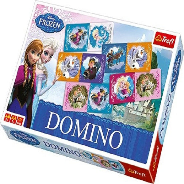 Disney Frozen Dominoes Game