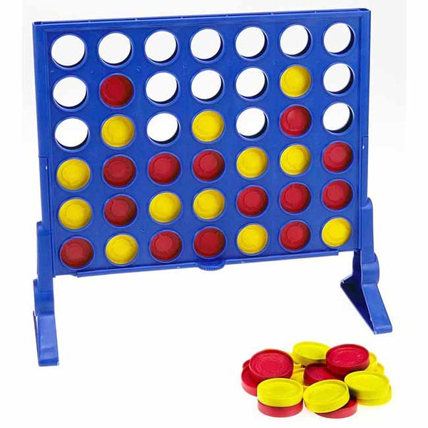 Connect 4 Grid Classic Kids Family Fun Game | Toys Deals