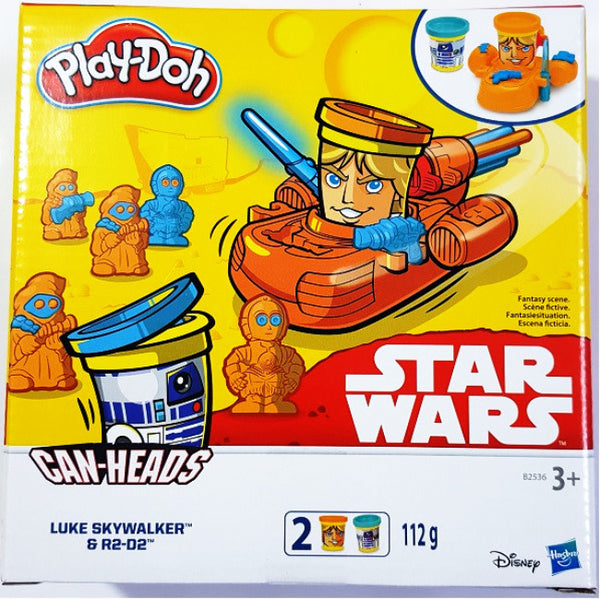 Playdoh Star Wars Can-Heads  | Play-Doh