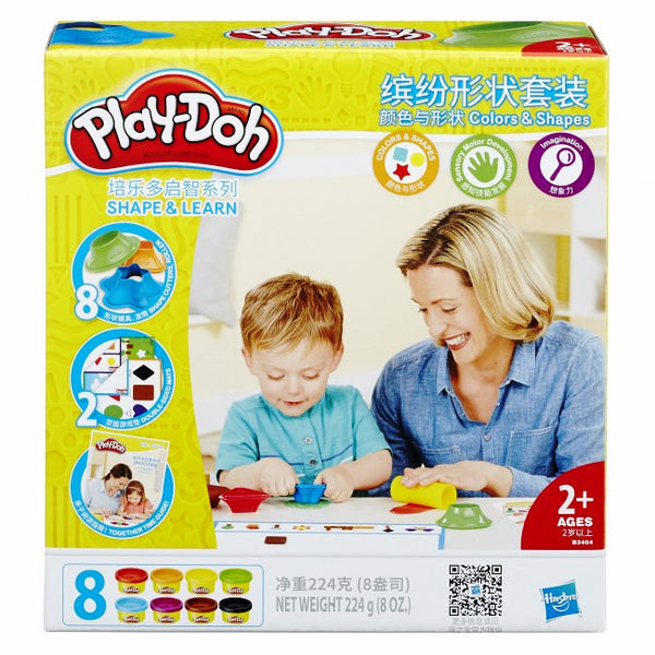 Play-Doh Colors and Shapes Toys