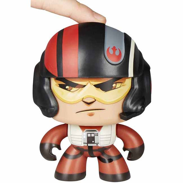 Star Wars Mighty Muggs E8 Poe Dameron Toy Figure
