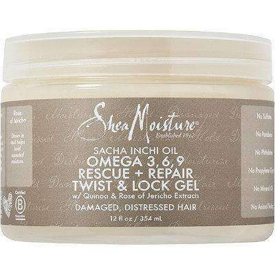 Shea Moisture Sacha Inchi Oil Omega-3-6-9 Rescue + Repair Twist & Lock Gel - Deluxe Beauty Supply