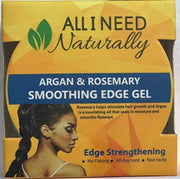 All I Need Naturally Agran & Rosemary Smooting Edge Gel - Deluxe Beauty Supply