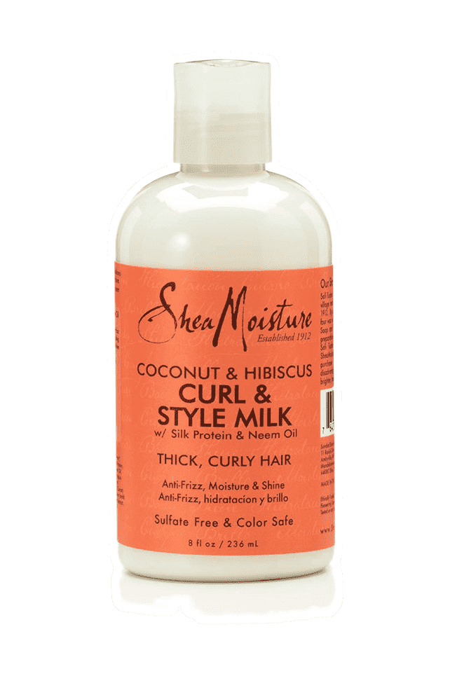 Shea Moisture Coconut & Hibiscus Curl & Style Milk - Deluxe Beauty Supply