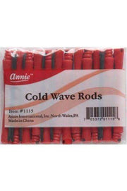 "Annie Cold Wave Rods 1/10"" Short #1115 Red"
