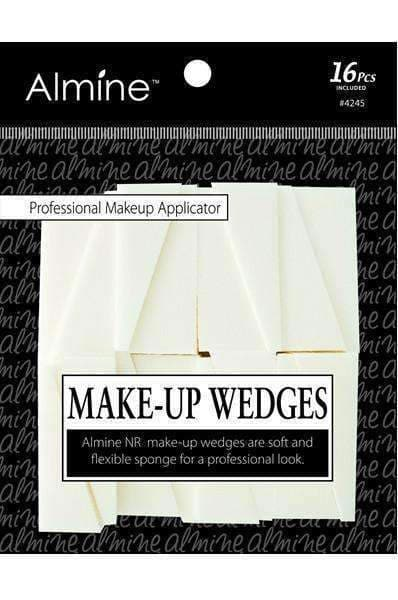 Almine Make-up Wedges 16pc #4245 - Deluxe Beauty Supply