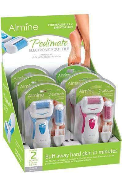 Almine Pedimate Washable Electronic Foot File #5762 - Deluxe Beauty Supply