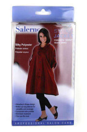 Salerno Silky Polyester Swing Jacket - Burgundy #7756