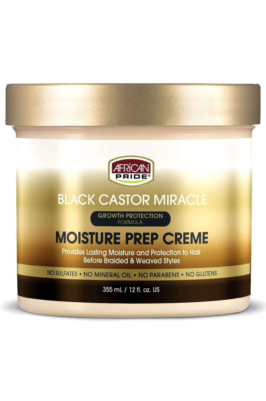 African Pride Black Castor Miracle Prep & Leave-in Moisture Butter - Deluxe Beauty Supply