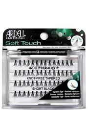 Ardell Soft Touch Individual Lashes - Knot-Free Short Black