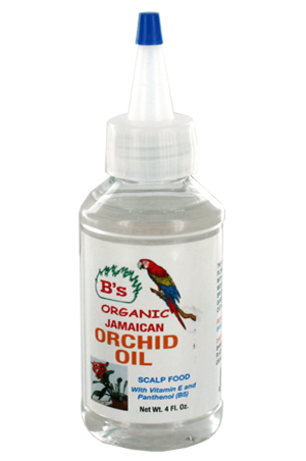 B's Organic Jamaican Orchid Oil - Deluxe Beauty Supply