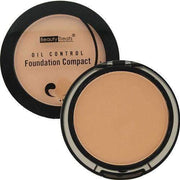 Beauty Treats Oil Control Foundation Compact - Medium Beige - Deluxe Beauty Supply