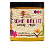 Alikay Naturals Creme Brulee Curling Custard 8oz - Deluxe Beauty Supply