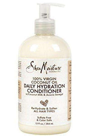 Shea Moisture 100% Virgin Coconut Daily Hydration Oil Shampoo - Deluxe Beauty Supply