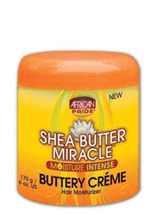 African Pride Shea Butter Miracle Buttery Creme 6oz - Deluxe Beauty Supply