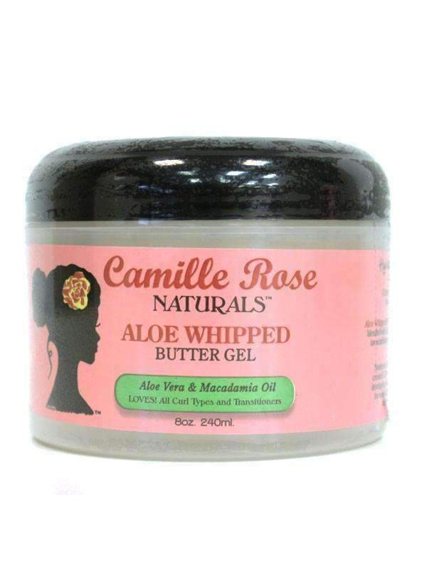 Camille Rose Naturals Aloe Whipped Butter Gel - Deluxe Beauty Supply