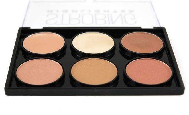 Beauty Treats Strobing Highlighter Palette - Dark - Deluxe Beauty Supply