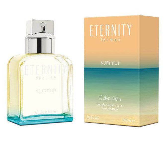 Calvin Klein Eternity Summer EDT Spray 3.4 oz / 100ML For Men