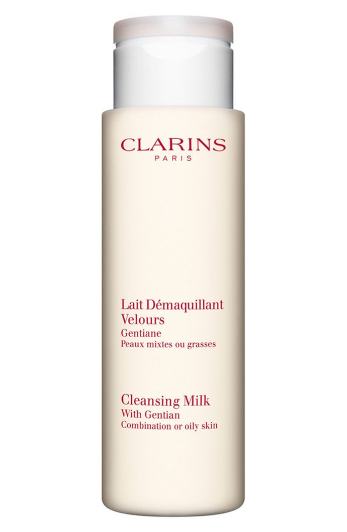 Clarins Cleansing Milk with Gentian for Oily or Combination Skin 7 oz / 200ML