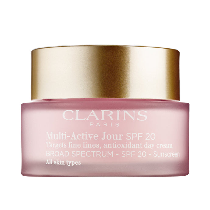 Clarins Multi-Active Day Cream SPF 20 All Skin Types 1.7 oz / 50ML