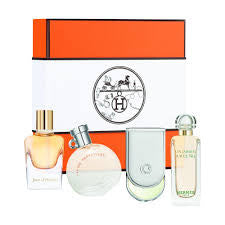 Hermes Miniature Fragrance Coffret Set 4 Pieces for Women