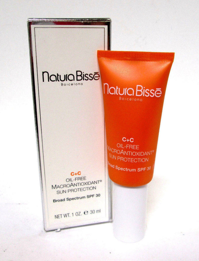 Natura Bisse C+C Spf 30 Oil-Free Macroantioxidant Sun Protection 1 oz / 30 ML