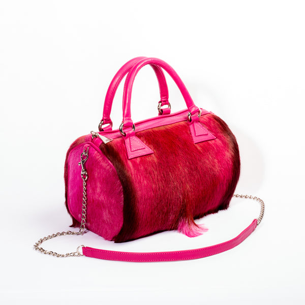 Carmen Designer Bowling Bag - Springbok Leather