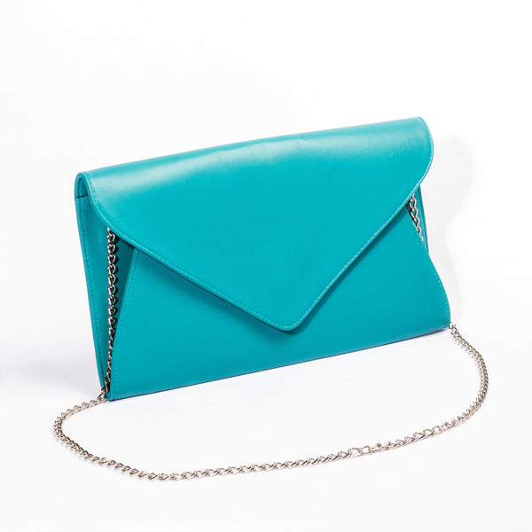 Giselle Designer Clutch Bag - Leather