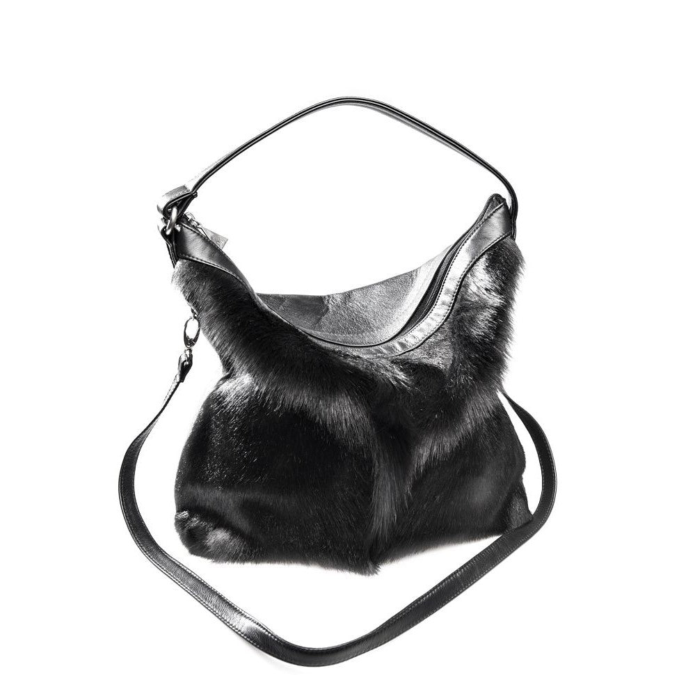 Odette Designer Hobo Bag - Springbok Leather