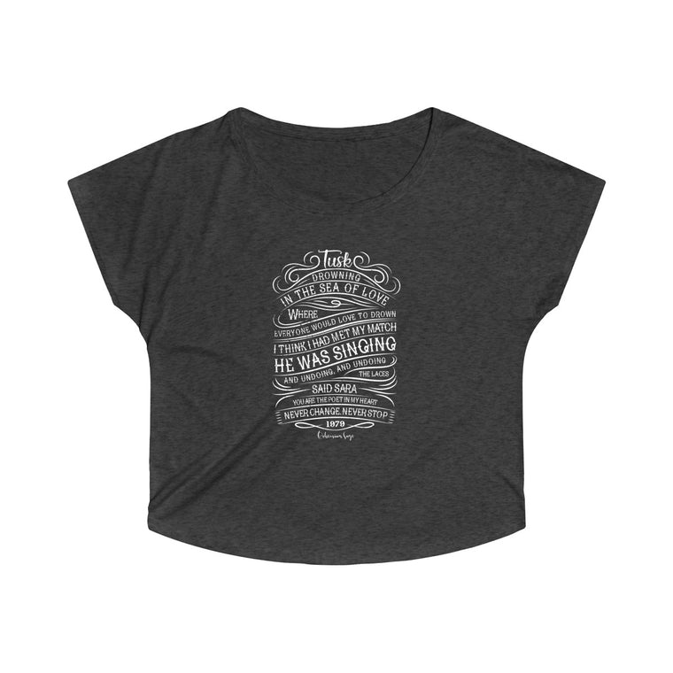 Women's Tri-Blend Dolman | Tribute to Fleetwood Mac