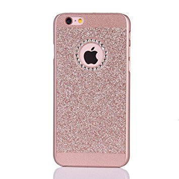 Rose Gold Bling Case