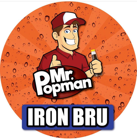 Iron Bru By Mr Popman (80ml) & Nicotine Boosters