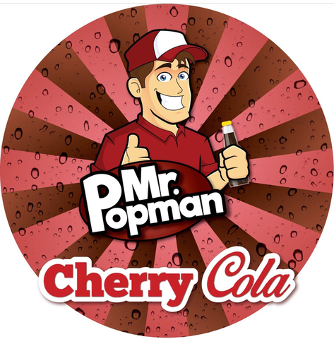 Cherry Cola By Mr Popman (80ml) & Nicotine Boosters