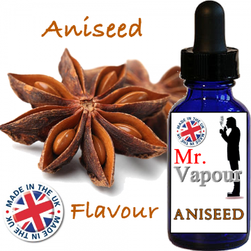 Aniseed by Mr Vapour (80ml) & Nicotine Boosters