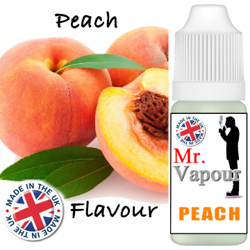 Peach by Mr Vapour (80ml) & Nicotine Boosters
