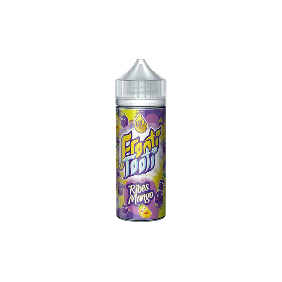 FROOTI TOOTI,SHORTFILL,RIBES MANGO,E-LIQUID,70VG,30PG,HUFF N PUFF VAPOURS