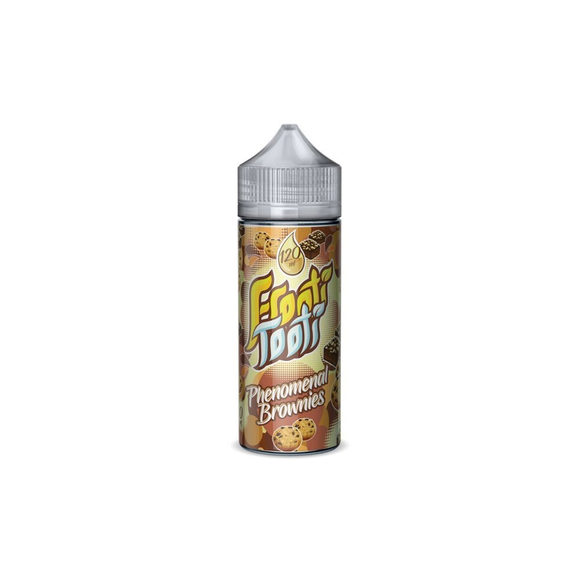 FROOTI TOOTI,SHORTFILL,PHENOMENAL BROWNIES,E-LIQUID,70VG,30PG,HUFF N PUFF VAPOURS