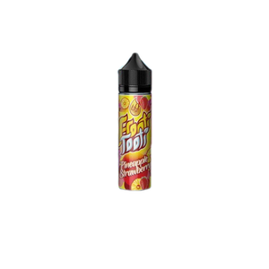 FROOTI TOOTI,SHORTFILL,PINEAPPLE STRAWBERRY,E-LIQUID,70VG,30PG,HUFF N PUFF VAPOURS
