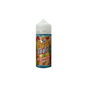 FROOTI TOOTI,SHORTFILL,STRAWBERRY PEACH,E-LIQUID,70VG,30PG,HUFF N PUFF VAPOURS