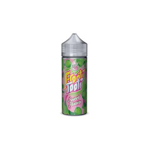 FROOTI TOOTI,SHORTFILL,SWEET GUAVA,E-LIQUID,70VG,30PG,HUFF N PUFF VAPOURS