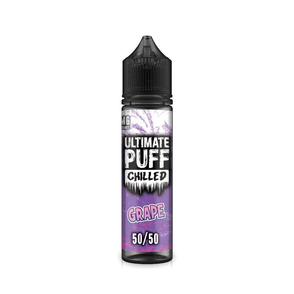 ULTIMATE PUFF,CHILLED,GRAPE,E-LIQUID,50VG,50PG,HUFF N PUFF VAPOURS