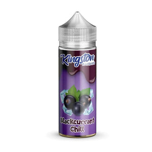 KINGSTON,SHORTFILL,BLACKCURRANT CHILL,E-LIQUID,70VG,30PG,HUFF N PUFF VAPOURS