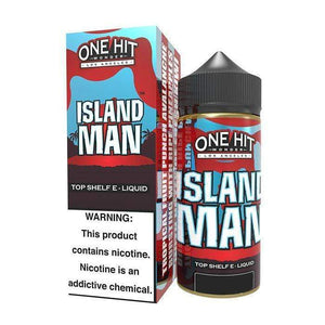 ONE HIT WONDER,SHORTFILL,ISLAND MAN,E-LIQUID,80VG,20PG,HUFF N PUFF VAPOURS