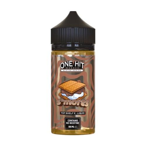 ONE HIT WONDER,WINTER SERIES,S'MORES,E-LIQUID,80VG,20PG,HUFF N PUFF VAPOURS