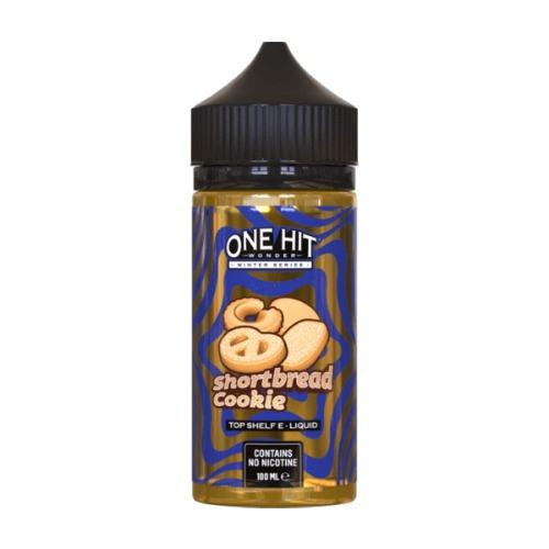 ONE HIT WONDER,WINTER SERIES,SHORTBREAD COOKIE,E-LIQUID,80VG,20PG,HUFF N PUFF VAPOURS