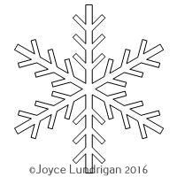 Applique Snowflake 1