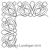 Blooming Blossom Border Corner Set